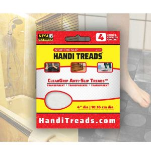 Stop the Slip with Handi-Treads ClearGrip Anti-Slip Treads